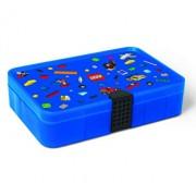 LEGO Iconic, Cutie albastra de sortare piese