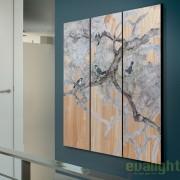 Tablou decorativ modern, dim.150x135cm, BIRDS 496750