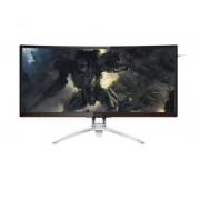 "AOC Gaming AG352QCX pantalla para PC 88,9 cm (35"") QXGA LED Curva Mate Negro, Plata"