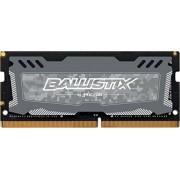 Ballistix Sport LT 8GB Single DDR4 2666 MT/s (PC4-21300) SR x8 SODIMM 260-Pin BLS8G4S26BFSDK (Gray)