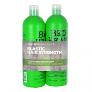 Tigi Bed Head Elasticate Strengthening Shampoo 750M Elasticate Shampoo + 750Ml Elasticate Conditioner Strengthening Nourishing Care 1500Ml Per Donna (Cosmetic)