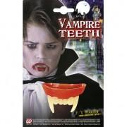 Geen Dracula gebit met hoektanden voor kinderen