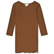 minimalisma Alda Klänning Cinnamon 3-4 år
