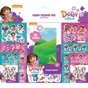 Geen Stickerset groot Dora