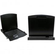 "LogiLink Professional LogiLink 19"" LCD KVM Konsole mit 43,18 cm (17"") TFT-Monitor"