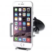 Suporte de Carro Universal Multifuncional para Smartphones - Cinzento