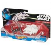SW Statek kosmiczny dwupak First Order Tie Fighter vs Millennium Falcon Starship + EKSPRESOWA WYSY?KA W 24H