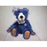 "World of Miniature Bears 3"" Mohair Pellet Bear Bubba #844 Collectible Miniature"