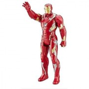 Ironman super Hero Action Figure Toy with Speech Sound Effect for Kids (12 inch) (Ironman)
