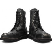 Diesel Hardkor Steel Boots For Men(Black)