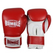 Rumble bokshandschoen fighter rood-wit