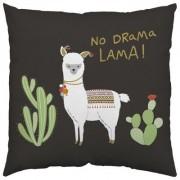 geschenkidee.ch Kissen No Drama Lama