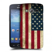 Husa Samsung Galaxy Core 2 G355 Silicon Gel Tpu Model USA Flag