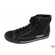 chaussures de tennis montantes - MACBETH - Black/Cement