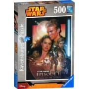 PUZZLE STAR WARS EP. II 500 PIESE Ravensburger