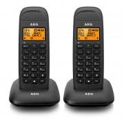 AEG Voxtel D85 Twin Teléfono Inalámbrico