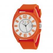 Crayo Sunset Unisex Watch w/Magnified Date - Orange CRACR3307