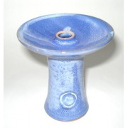 Creuzet narghilea phunnel M White-blue-stripes