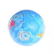 AST Works 10cm Stress Relief World Map Foam Ball Atlas Globe Palm Ball Planet Earth Ball@
