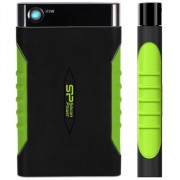 "500GB Silicon Power External 2.5"" USB3.1 A15 Armor Black&Green"