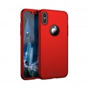 Husa Ipaky Iphone X Full Cover 360 - Rosu