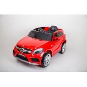 Mercedes A 45 AMG Licencirani auto za decu na akumulator sa kožnim sedištem i mekim gumama - Crveni