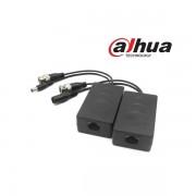 Dahua PFM801-4MP HDCVI video balun+táp, max. 4MP, 2db/csomag
