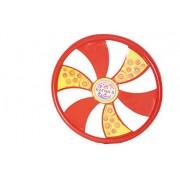 Ratnas premium Vroom flying disc for kids. best flier and flies long distance (red)