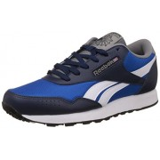Reebok Classics Men's Classic Protonium Navy Blue, Grey, White and Red Sneakers - 6 UK/India (39 EU) (7 US)