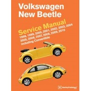 Volkswagen New Beetle Service Manual: 1998, 1999, 2000, 2001, 2002, 2003, 2004, 2005, 2006, 2007, 2008, 2009, 2010: Including Convertible, Hardcover