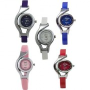 COMBO SET HOT SELLING 5 STAR PAIR Analog Watch - For Girls Women Couple