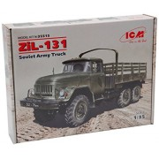 ICM Models ZIL-131 Soviet Army Truck Vehicle