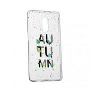 Husa Silicon Transparent Slim Toamna 145 Huawei Mate 10 Lite