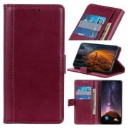 Bolsa Tipo Carteira Premium para Samsung Galaxy A10 - Vinho Vermelho
