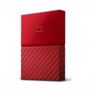 Disco duro externo WD My Passport 3TB - Rojo