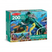 Puzzle adancurile marii Melissa and Doug, 200 piese