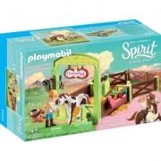 Spirit - Spatiu Ingrijire Cai - Abigail & Boomerang Playmobil