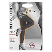 Solidea By Calzificio Pinelli Red Wellness70 Leggins Nero 2m