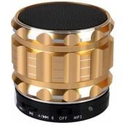 Boxa Portabila Bluetooth iUni DF12, Slot Card, Metal, Gold