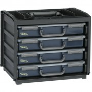 Raaco Assortment Box Handy Box with 55x4 Assorters 136242