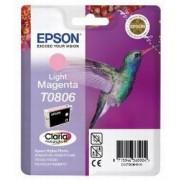 Epson T0806 LM -C13T08064011, Ljus Magenta Bläckpatron, Original