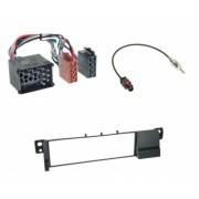 Kit audio BMW E46 rama cu mufa alimentare si mufa antena