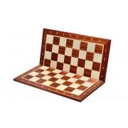 Tabla de șah din lemn, pliabila