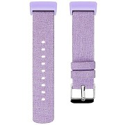Eternico Fitbit Charge 3 / 4 Canvas, lila (Large)