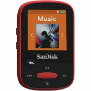 SanDisk Clip Sport Red 4GB MP3 player SDMX24-004G-G46R SDMX24-004G-G46R
