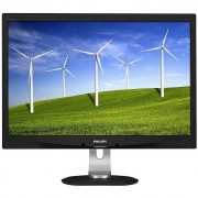 "Philips 240b4qpyeb/00 B-Line Monitor Lcd Ips 24"" Powersensor Colore Nero E Argen"