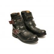 Ghete Dama Sneaky Steve Wakeham W Leather Shoe Maro