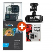 GoPro kamera HD HERO 3 + Black Edition + 32GB micro SD zdarma