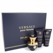 Versace Pour Femme Dylan Blue For Women By Versace Gift Set - 1.7 Oz Eau De Parfum Spray + 1.7 Oz Bo