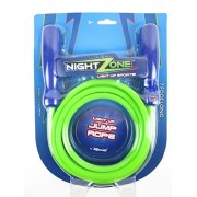 Nightzone 7' Long Light up Jump Rope Night Zone Led Skip Hop Skipping Glow Super Bright